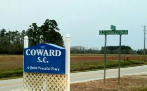 Welcome to Coward, SC. Population 750.